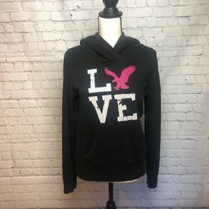 Graphic American Eagle Hoodie
